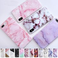 For iphone 5s 5 SE 6 6s 8 6 7 8 plus X Granite Scrub Marble ...
