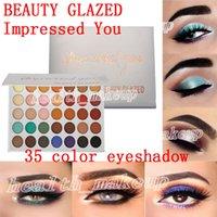 Yeni makyaj Paleti Güzellik Camlı Göz Farı Paleti 35 Renk Size Etkili Mat pırıltılı Göz Farı Paleti güzellik sırlı Marka Kozmetik