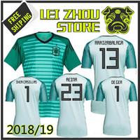 New Arrival. 2018 spain Goalkeeper soccer jersey 1819 spain ASENSIO MORATA  ISCO A.INIESTA DE GEA REINA IKER CASILLAS ARRIZABALAGA football shirts  JERSEY c9c574b7d