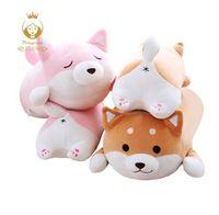 Peluches mignonnes de peluche de Shiba Inu, oreiller de peluche de chien de Chai super doux, oreiller de cul de chien, jouets pour enfants, cadeaux de Noël