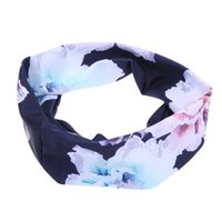 2017 New Printing Headbands for Women Elastic Sports Sweat H...