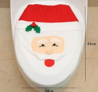 Hot Sale Christmas Decoration For Home Fancy Santa Toilet Se...