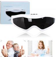 Intelligent Massager elettrico dell'occhio terapia magnetica frequenza di vibrazione 9 Funzioni Eyes Relax Massager di cura occhiali miopia prevenzione