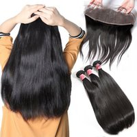 xblhair human hair bundles and closure hair extensions 3 bun...