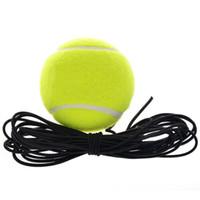 مرونة المطاط الصوف تدريب كرة التنس الكرة مع سلسلة لممارسة واحدة ممارسة التدريب الرياضي