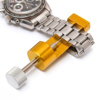 Guarda gli attrezzi Kit di attrezzi per la riparazione di orologi professionali Ricambi per orologi Strumenti di orologiaio per la rimozione di cinghie Parti di ricambio per orologeria