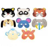 Хэллоуин случайные творческие маски животных День рождения партии поставки популярные зоопарк джунгли партия одеваются дети дети Ева пена мультфильм
