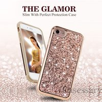 The Glamor 2 in 1 Slim Hybrid Diamond Bling Glitter Case For...