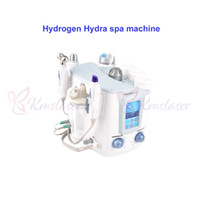3 en 1 Hydra Facial Dermabrasion Beauty Machine Hidrógeno Hidráulica Hydro Peel Aspiradora BIO Lifting Skin Care Rejuvenation Spa