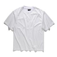 Мужские футболки 2021 моды негабаритные сетки с короткими рукавами футболка с коротким рукавом сплошной чистый цвет хип-хоп High Street Rock Style лето плюс размер Tees