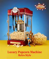 Попкорн машина 2,5 унции ретро стиль попкорн Поппер небольшой попкорн чайник машина электрическое отопление кукурузы Поппер