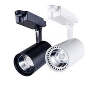 2 pcs Modern LED Faixa de Luz Da Lâmpada 20 W 30 W Loja de Roupas Janelas Showrooms Exposição Holofotes LED Teto Rail Spot Lâmpada AC220V