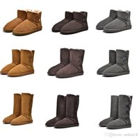 High Quality Ugs Women Australia Real Sheep Fur Snow Boots W...