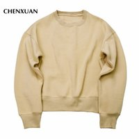 Wholesale- CHENXUAN 2017 NEW Sweatshirts simple solid men&#0...