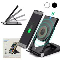 Qi Wireless Charging Fast Charger Stand Pad for Apple iPhone...
