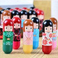 Cute Lovely Kimono doll Brand Makeup Lipstick Women Beauty P...