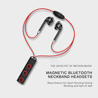 BT313 Magnetic Bluetooth Headset Earphone Sport Running Head...