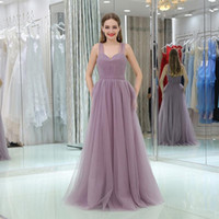 Spaghetti Straps A Line Long Bridesmaid Dresses Sleeveless S...