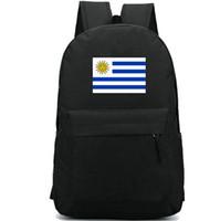 Uruguay-Flaggenrucksack Stilvoller Tagesrucksack Country-Banner Schultasche Lässig Packsack Guter Rucksack Sportschultasche Outdoor-Tagesrucksack