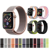nylon sport loop strap For Apple Watch band 42mm 38mm 44mm 4...