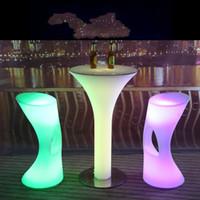 Бесплатная доставка led подсветкой бар стул сиденье водонепроницаемый с пультом дистанционного управления+110/220 В адаптер,светодиодные бар стул стул открытый