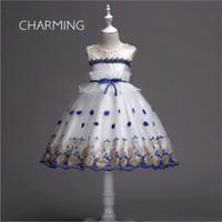 Krótkie sukienki Prom, Party Dress Lace Haft, Sukienka ślubna Kwiat Dress, Specjalne okazje Sukienka, Nadaje się do Prom Dresses, School Morza