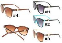 2018 Nova alta qualidade piloto moda óculos de sol para homens e mulheres designer de marca vintage esporte sol óculos 4078
