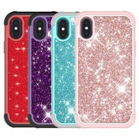 For Iphone XR Case Luxury Glitter Shiny Bling Case Soft TPU ...