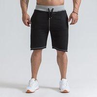 Активные Мужская Бодибилдинг Шорты Fitness Workout 3 Inseam Bottom хлопок мужской моды случайные короткие штаны Марка одежды Размер M-XXL