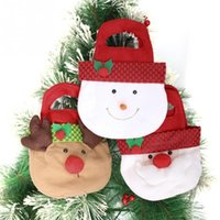 Candy Bag Children Christmas Tree Gift Candy Bag Merry Chris...