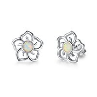 2018 Charm Exquisite S925 Sterling Silver Earring Hollowed W...