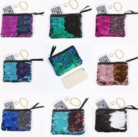 4596982b79ac Wholesale reversible tote bag for sale - Sequins Women Coin Purse Gift Coin  Purse Wallet Reversible