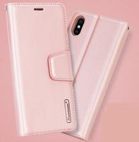Hanman Carteira PU flip stand case para iphone 11 12mini pro max xs xr 8 7 6 s plus com caixa de varejo