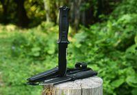 Coltello da caccia tattico 7Cr17mov lama maniglia in gomma piccola coltelli diritta a lama fissa coltello da campeggio all'aperto tasca da campeggio strumento di sopravvivenza