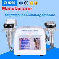Corps professionnel amincissant la machine de cavitation de Radiofrecuencia pour la peau faciale de rf serrant le meilleur équipement de beauté de HotCold Hammer BIO