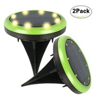 Best Solar Panel LED Underground Light Spotlight Landscape G...