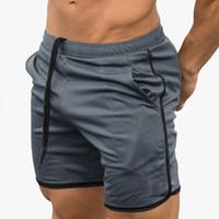 Zebery Men's Fitness Shorts à séchage rapide Mince Shorts Outdoor Stretch pour hommes Vêtements
