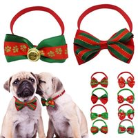 Christmas Gift Dog Cat Bow Ties Bowtie Dog Neckties Holiday ...