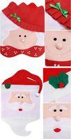 Санта-Клаус Миссис Клаус Кепка Чехлы на стулья Рождественский Ужин Украшение Стола для Дома Стул Задняя Крышка Decoracion Домашний Сад