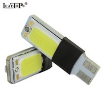 2psc / lot ad alta potenza t10 w5w led pannocchia auto led t10 5w5 12 v t 10 bianco auto luce antinebbia lampada luce interna LEDs CE