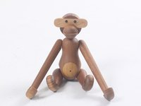 Danmark Wooden Hanging Monkey Doll Figurines Puzzle Wood Toy...