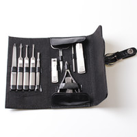 New 11 Pcs Manicure Set Stainless Nail Clipper Kit Nail Cutt...