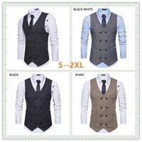 2018 Spring and Summer New Double- breasted Retro Men' s ...