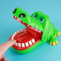 Funny Trick Crocodile Dentist Bite Mouth Toys Cartoon Animal...