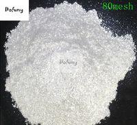 500g Nagel Glitter Weiß Kristall Perle Pulver Pigment für Lidschatten Nail art Lack Pigment Glimmer Pulver