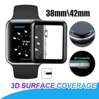 For Apple Watch iwatch 3D Curved Tempered Glass Screen Prote...