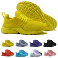 Wholesale PRESTO 5 BR QS Yellow Black White Mens Sneakers Wo...