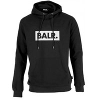 2017 Fleece BALR Casual Unisex Hoodies Sweatshirt Kühle Hip Pop Pullover Menswomen Sportwear Mantel Jogger Trainingsanzug Mode