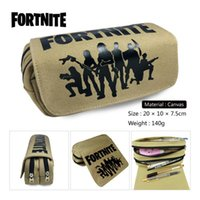 2018 3 styles Fortnite Large Capacity Boys and Girls Canvas ...