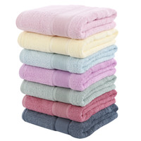 28*55 Inch Bamboo Towels Sale Pure Color Rectangle Absorbent...